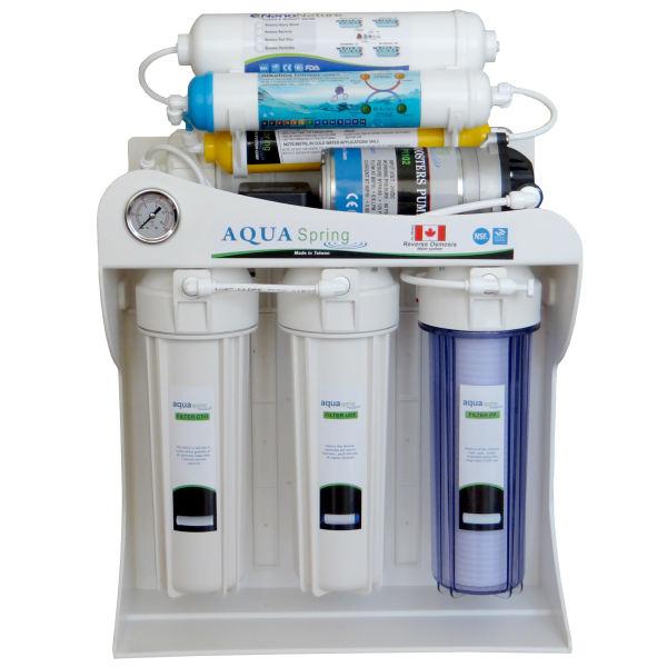 دستگاه تصفیه آب آکوا اسپرینگ مدل AQ-SF2500