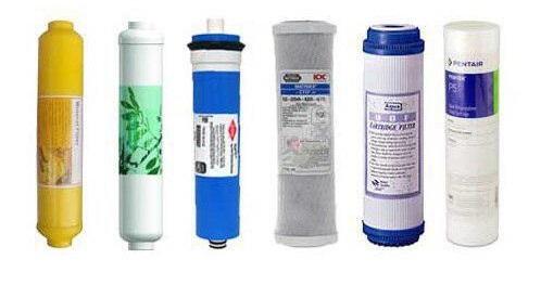 اجزای تشکیل دهنده تصفیه آب خانگی